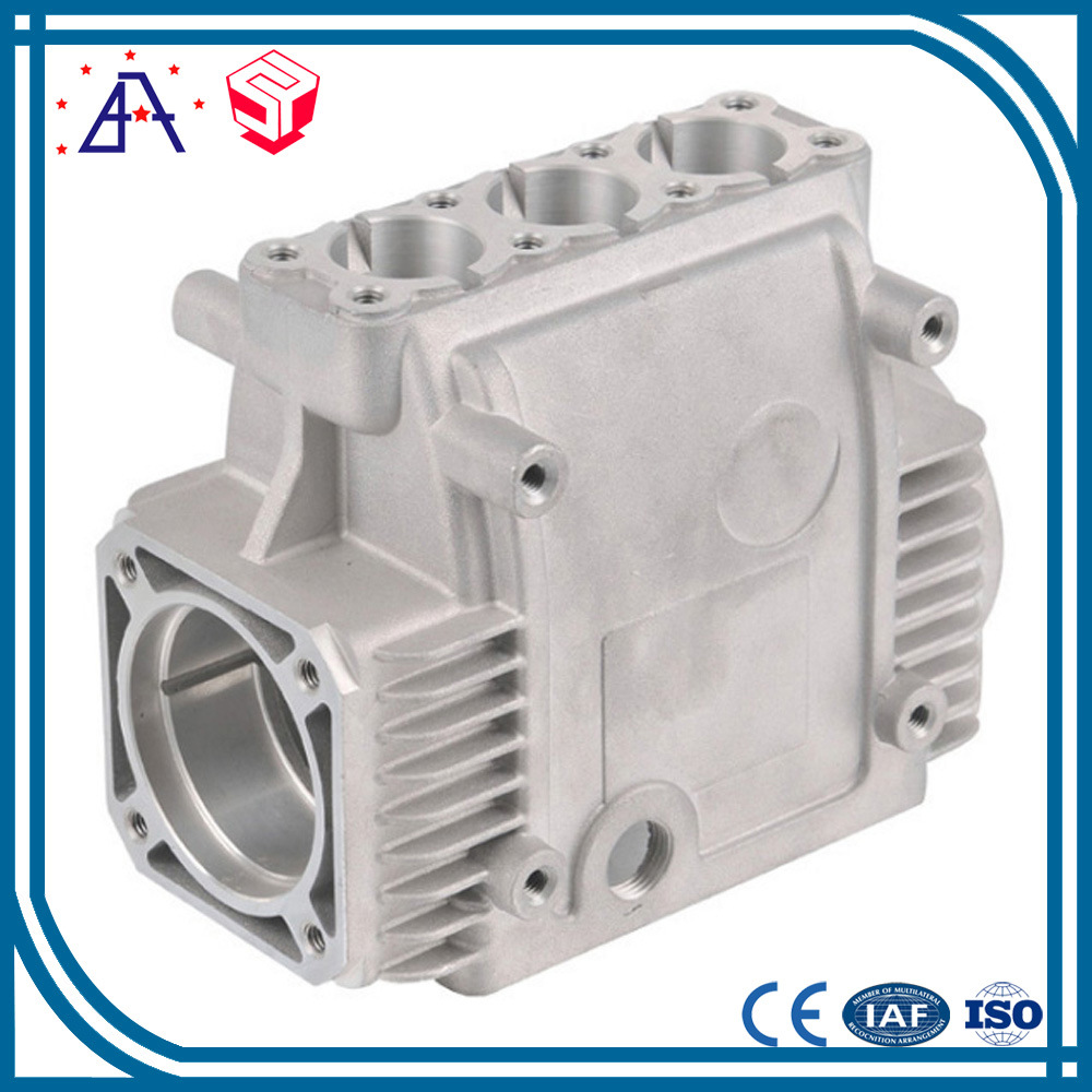 High Precision OEM Custom Die Casting Aluminum Parts for LED Base (SYD0013)