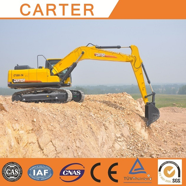 Hot Sales Carter CT220-8c Multifunction Heavy Duty Hydraulic Crawler Excavator
