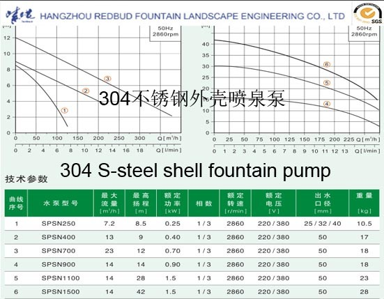 304 Stainless Steel Pump