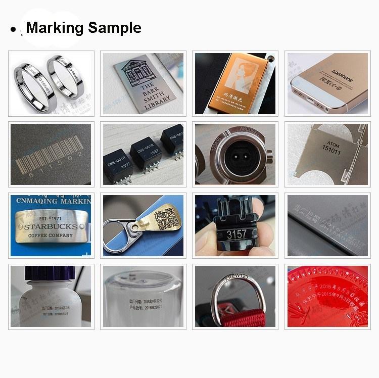 Mini Portable Fiber Laser Engraving Machine