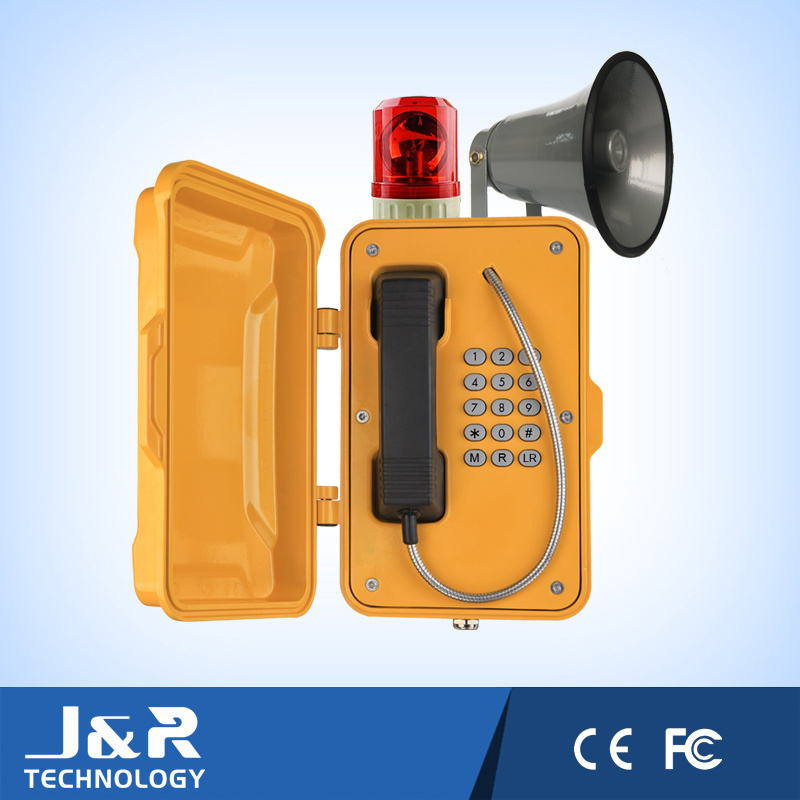J&R Public Analogue/GSM Broadcasting Weatherproof Telephones