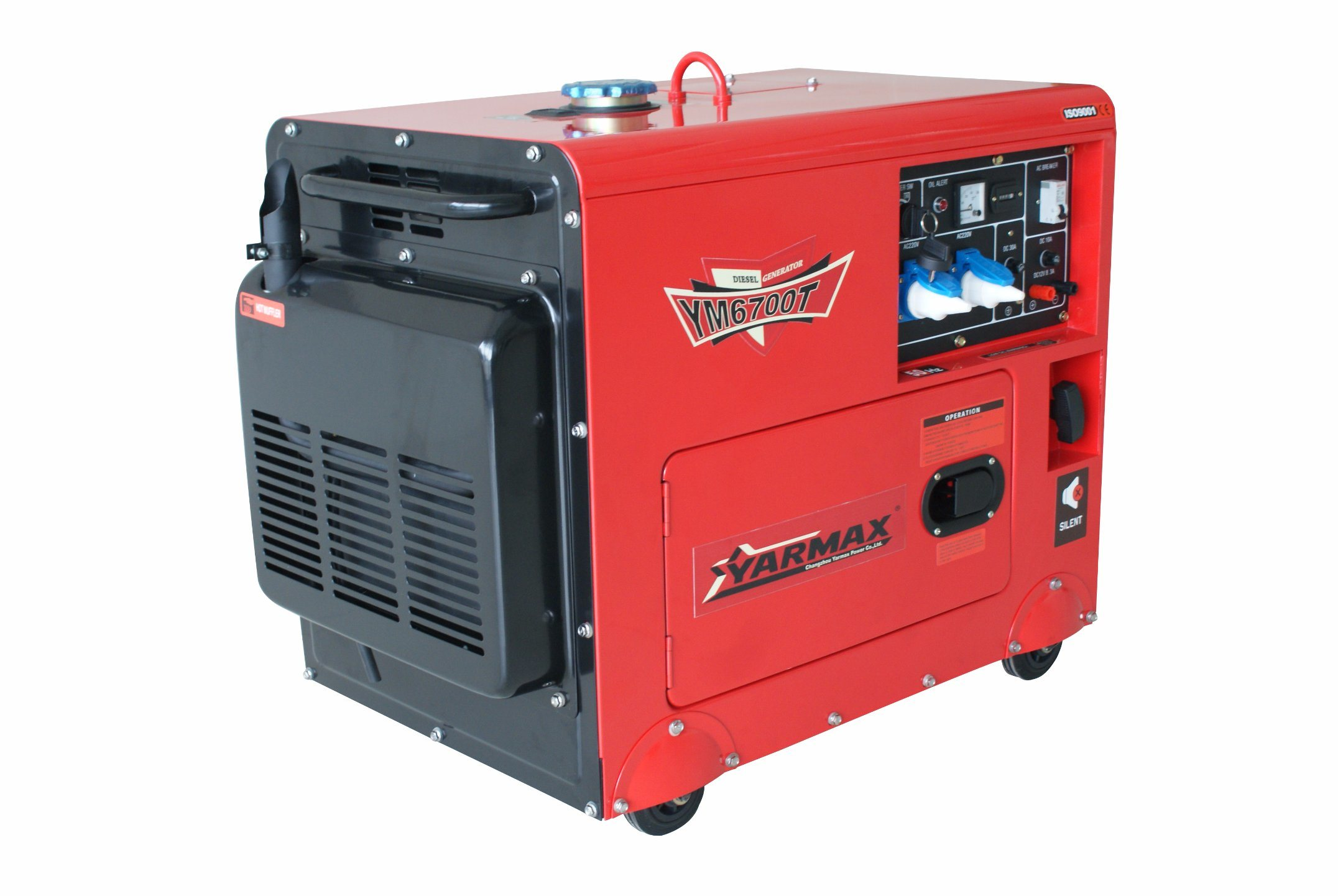China Yarmax Diesel Generator Ym6700t Portable Genset 4 5kVA 5 5