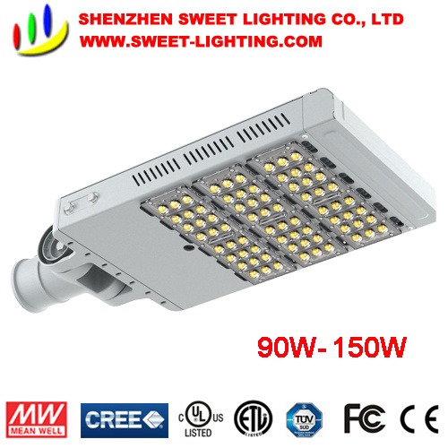 30W-300W IP65 LED Street Light with Meanwell Powersupply