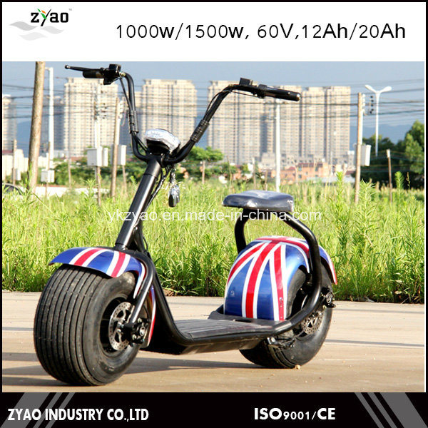 2016 Hot Sales Smart Electirc Scooter Citycoco with LED Light