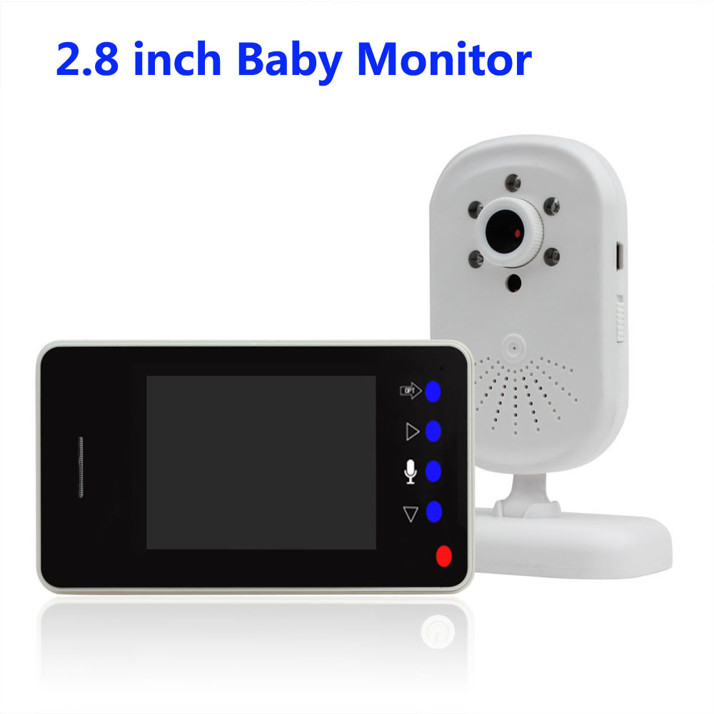 2.8 Inch Wireless 2.4G Baby Monitor with Night Vision for 24 Hours Baby Care