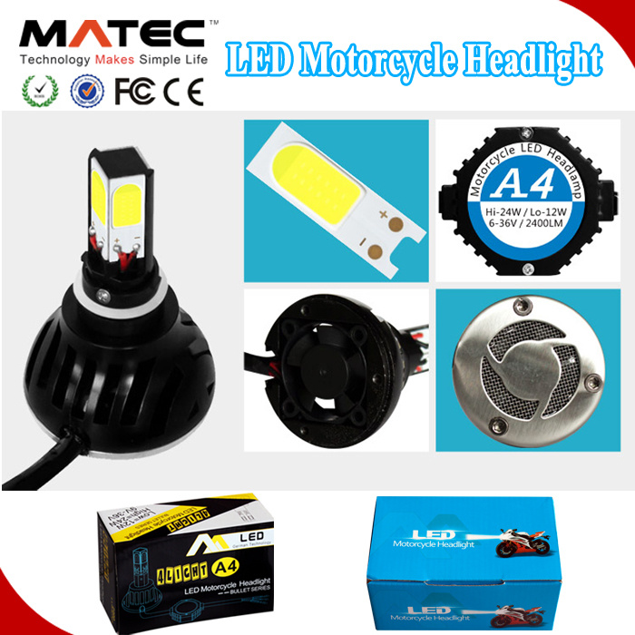 Popular New Coming 4 Side Motorcycle LED Headlight Bulb