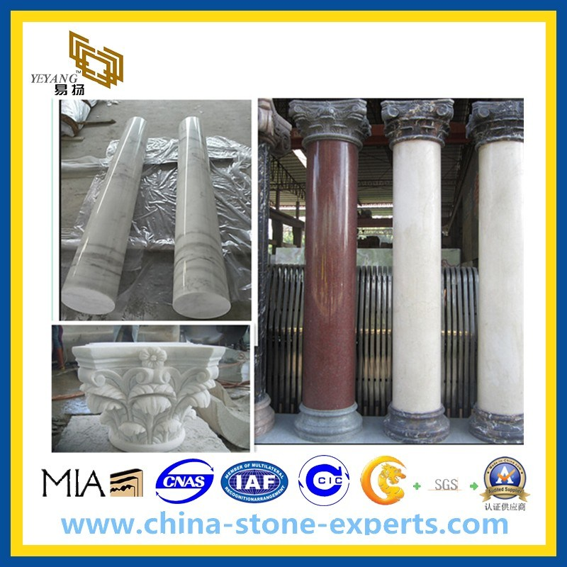 Marble Stone Column and Pillar (cream, black, green, yellow, beige etc)