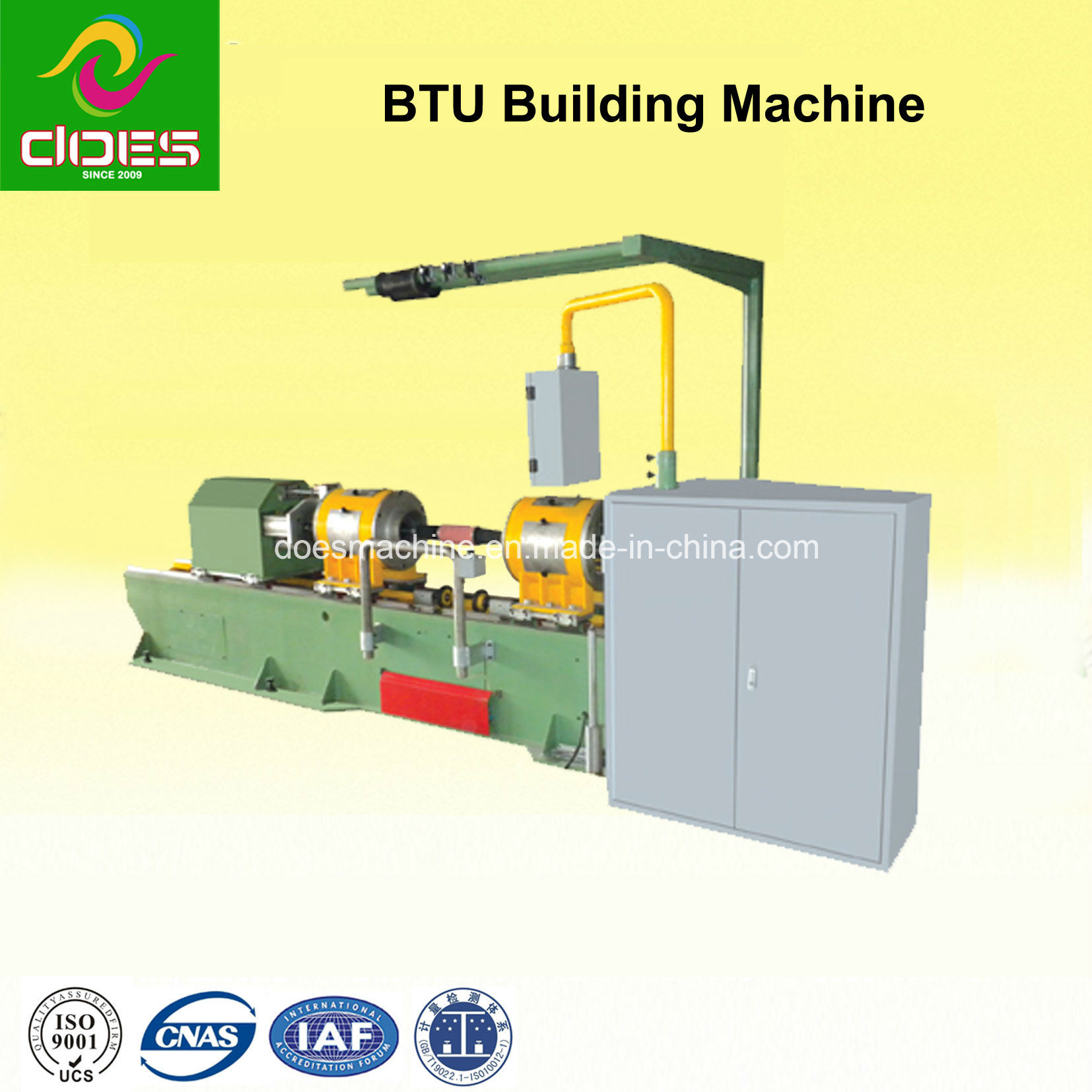 Wide Section BTU Rubber Tire/Tyre Building Machine - 0406