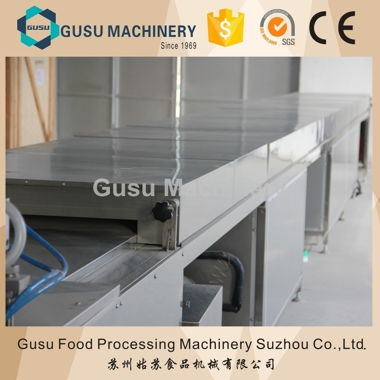 SGS Cetified Snack Food Gusu Granola Candy Bar Forming Cutting Machine