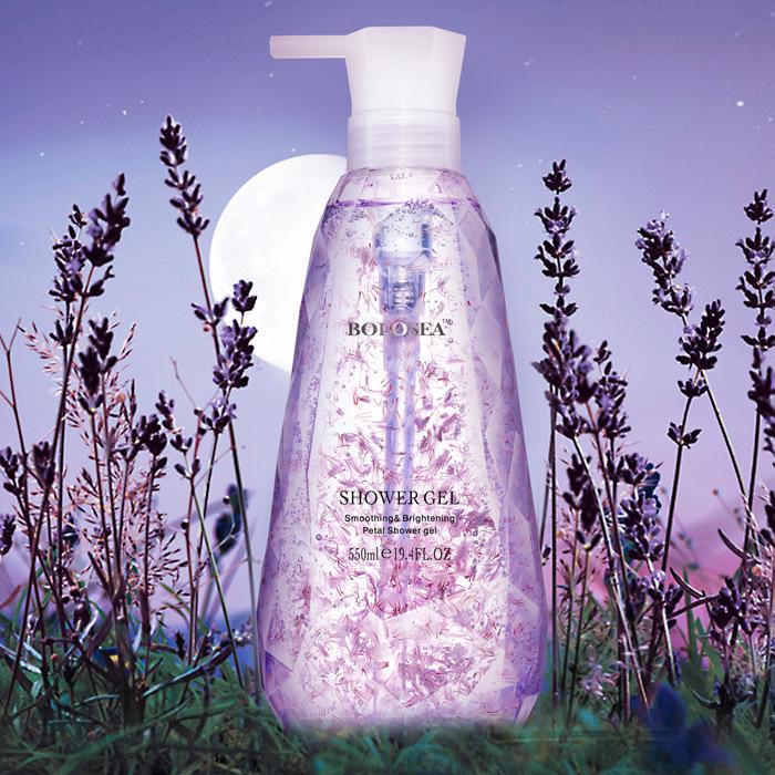Lavender Flower Essence Relaxing Shower Gel Body Wash