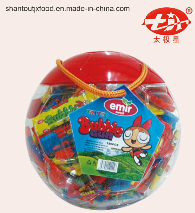 Big Football Shape Bottle Long Bubble Gum