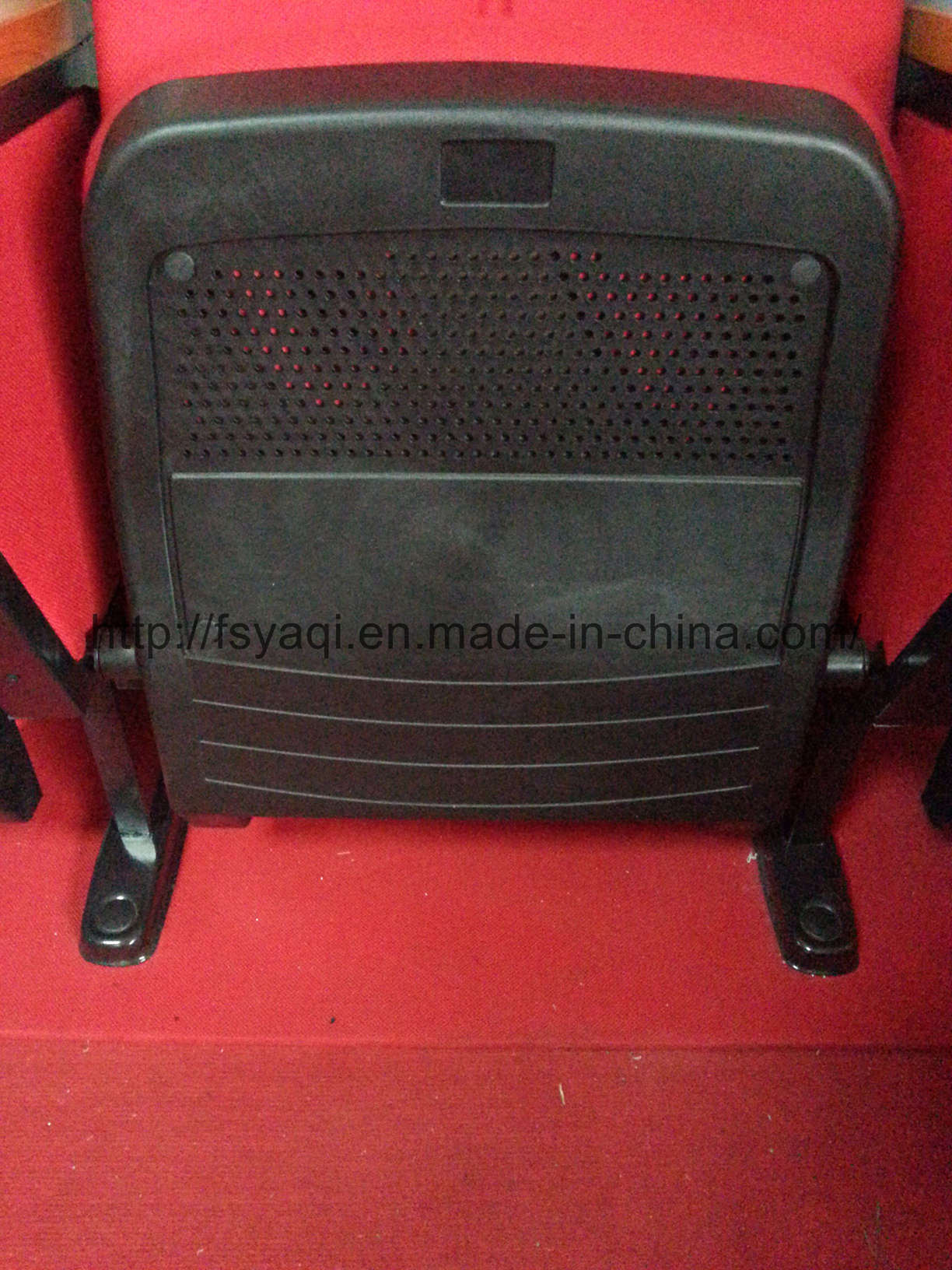Hotsale Competitve Foldable Metal Theater Chair Auditorium Chair Cheap Price Upholstery Small Size Church Chair (YA-16)