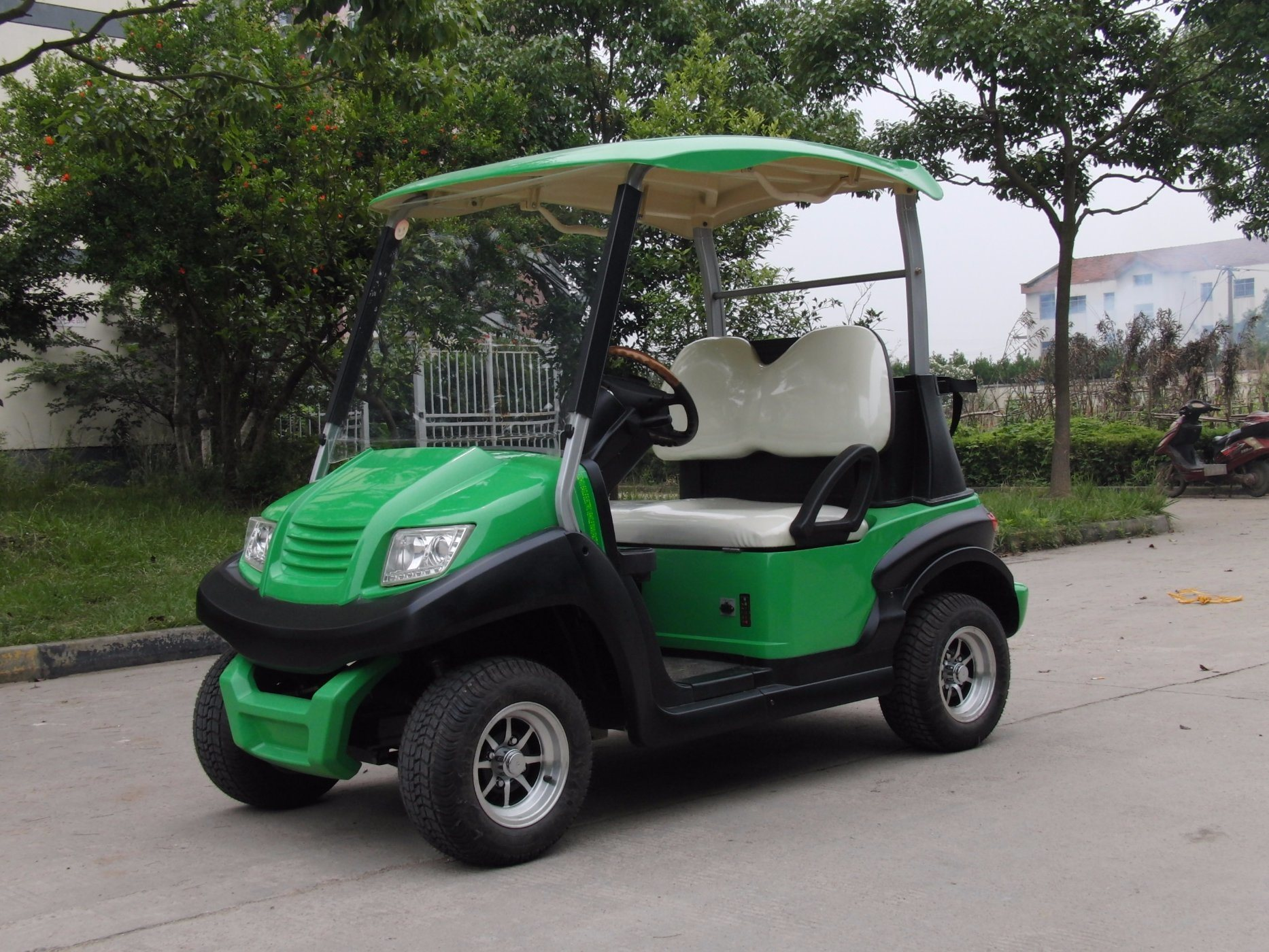 Upgraded 2 Seats Electric Golf Car