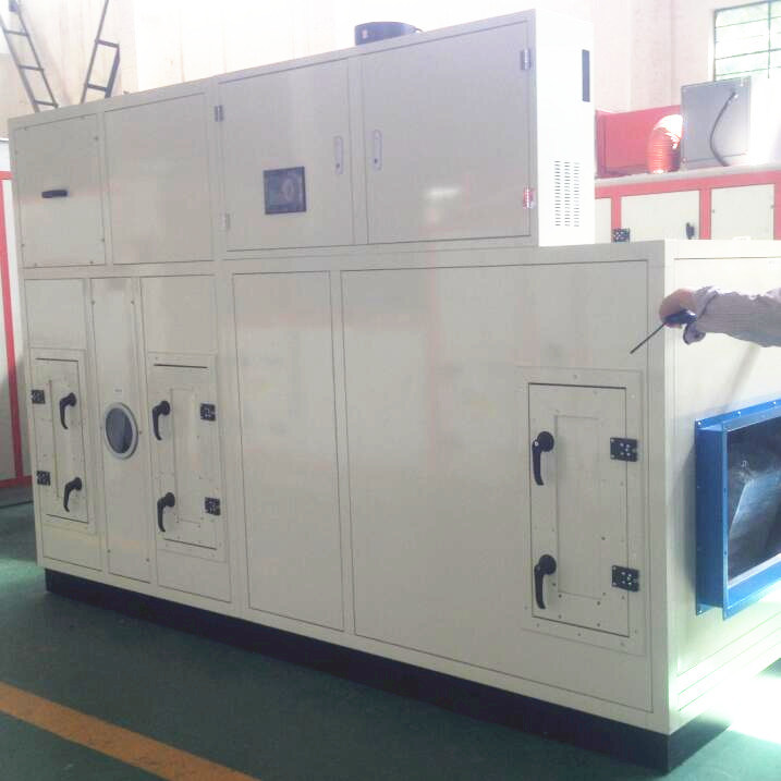 Desiccant Wheel Dehumidifier for Food Industry