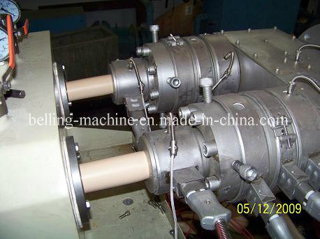 16mm 40mm 50mm 63mm PVC Two Pipes Production Line