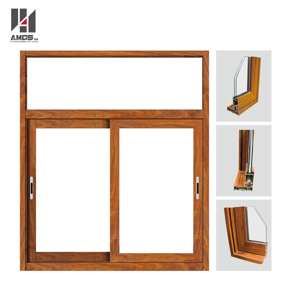 Customized High Quality Glass Window Aluminum Sliding Window