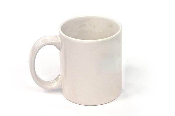 11oz All White Sublimation Mug