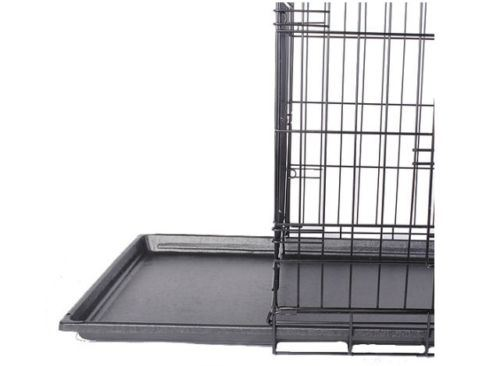 Wire Dog Pet Crate with 2 Doors