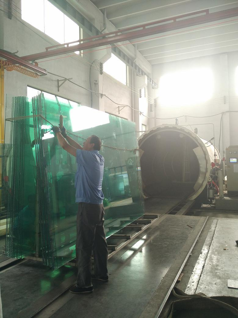 6.38mm/10.38mm/12.76mm Clear General Laminated Glass