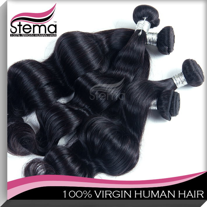 Hair 5A Grade Brazilian Virgin Human Hair Weaving (YY-HJ-BFBW)