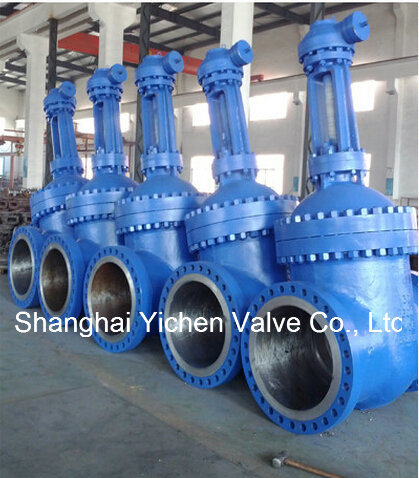 API 600 Cast Steel Gear Operated Gate Valve (Z540Y)
