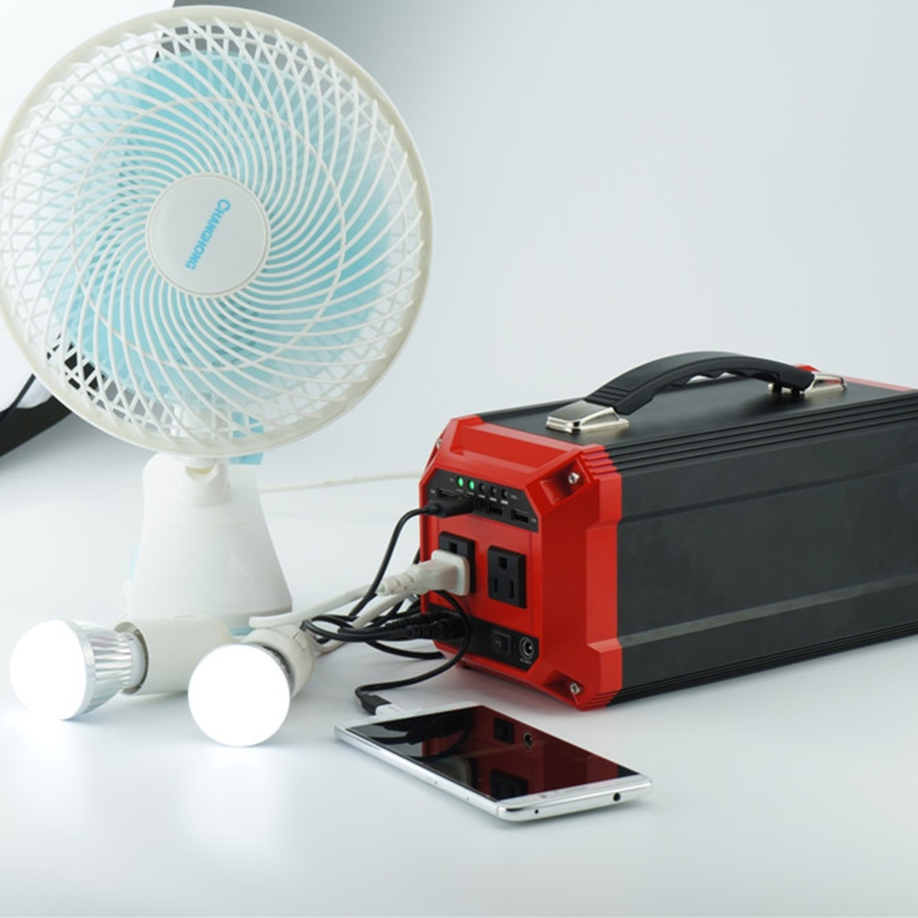 Solar Panel Kit Portable Power Bank with Battery