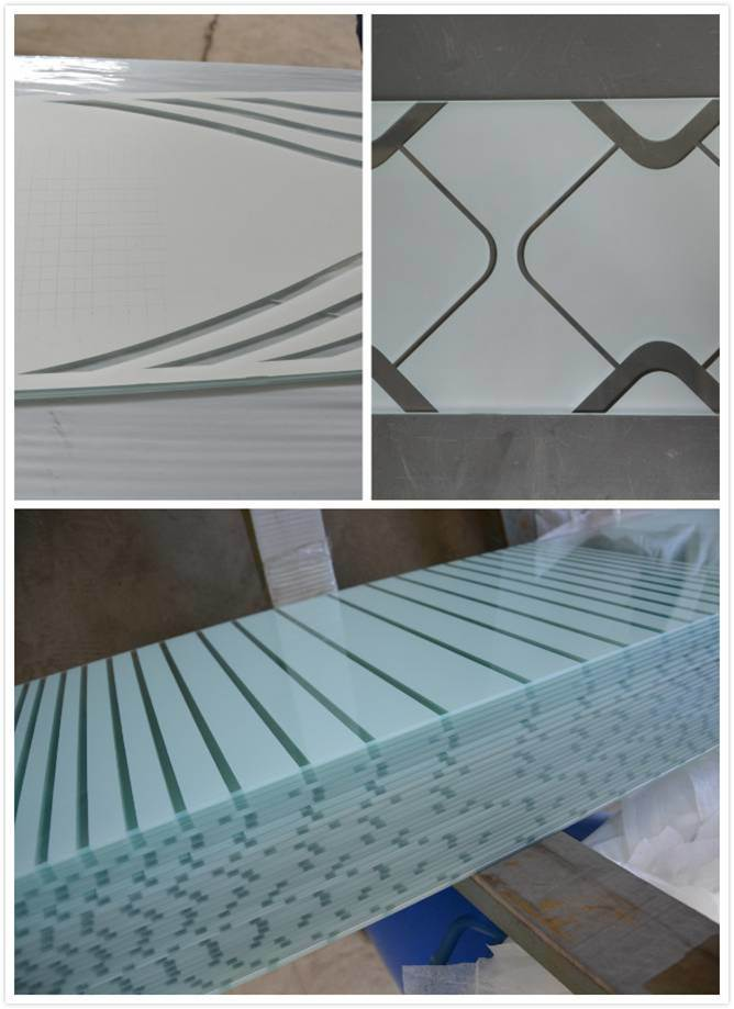 3-12mm Printing Glass/Painted Glass for Decoation and Furniture