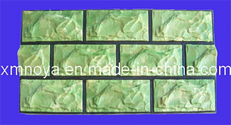 Artificial Fake Light Weight Green PU Culture Stone for Wall