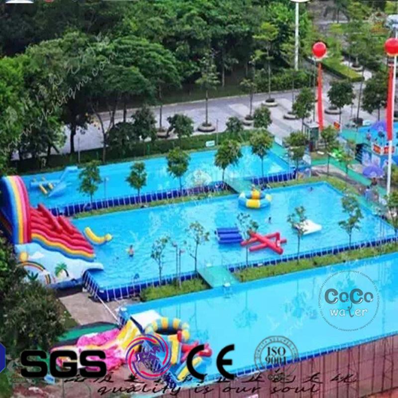 PVC Inflatable Frame Swimming Pool Water Game Pool LG8090