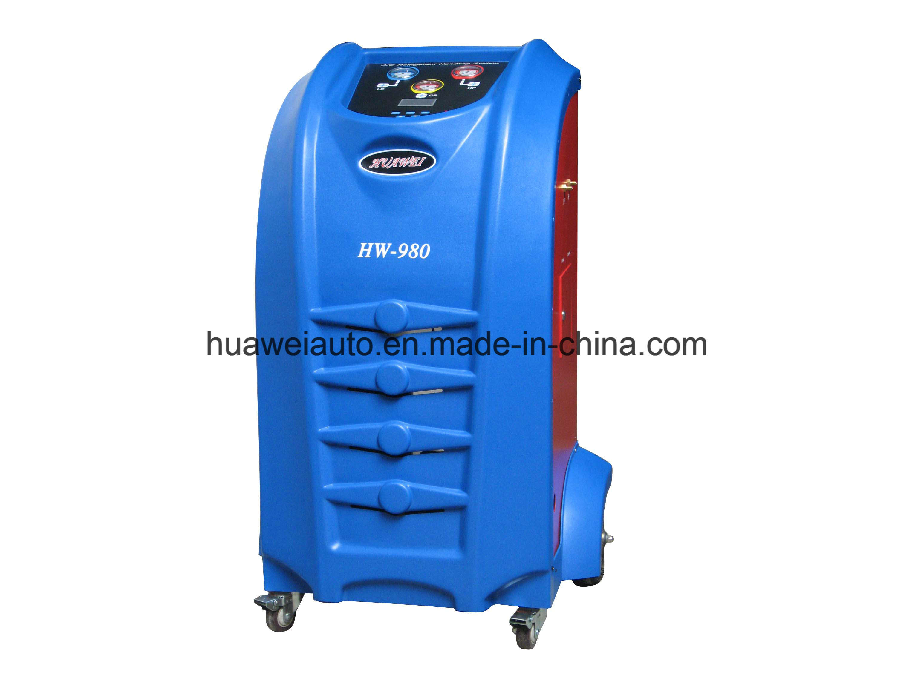Cheap Price Full Automatically Charging & Refrigerant Recovery Machine