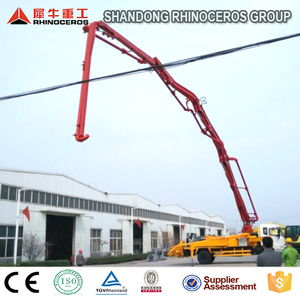 High Quality Truck Mounted Concrete Pump, Hydraulic Pump Concrete, Concrete