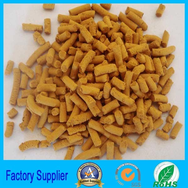 Chemical Activated Carbon Iron Oxide Desulfurizer for Metallurgy