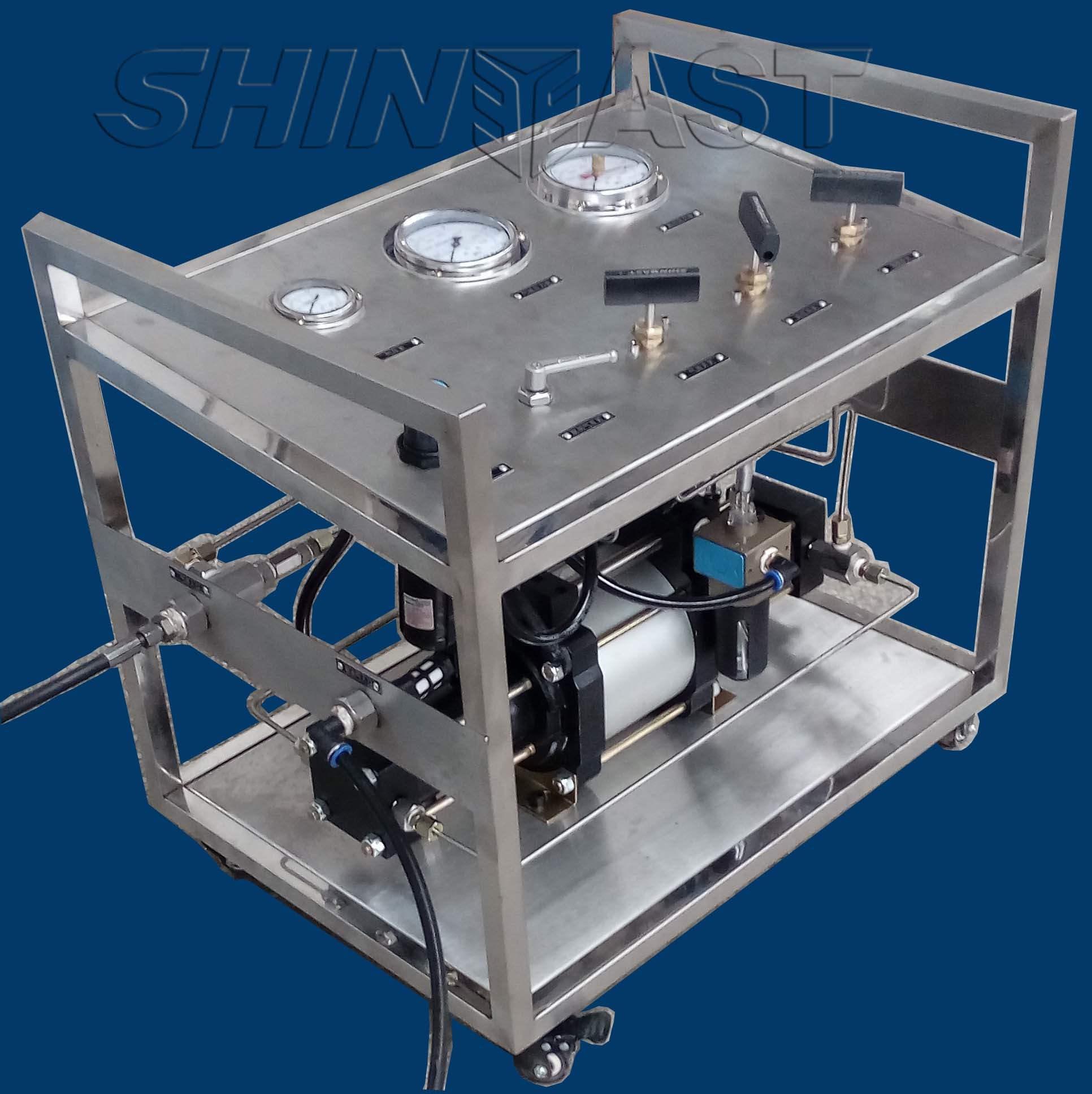 High Pressure Gbs-STD60-F Pneumatic Power Pack-Shineeast-2017