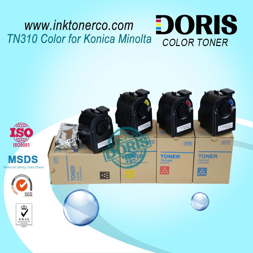 Japan Bulk Color Copier Toner Powder Tn310 for Konica Minolta Bizhub C350 C351 C450