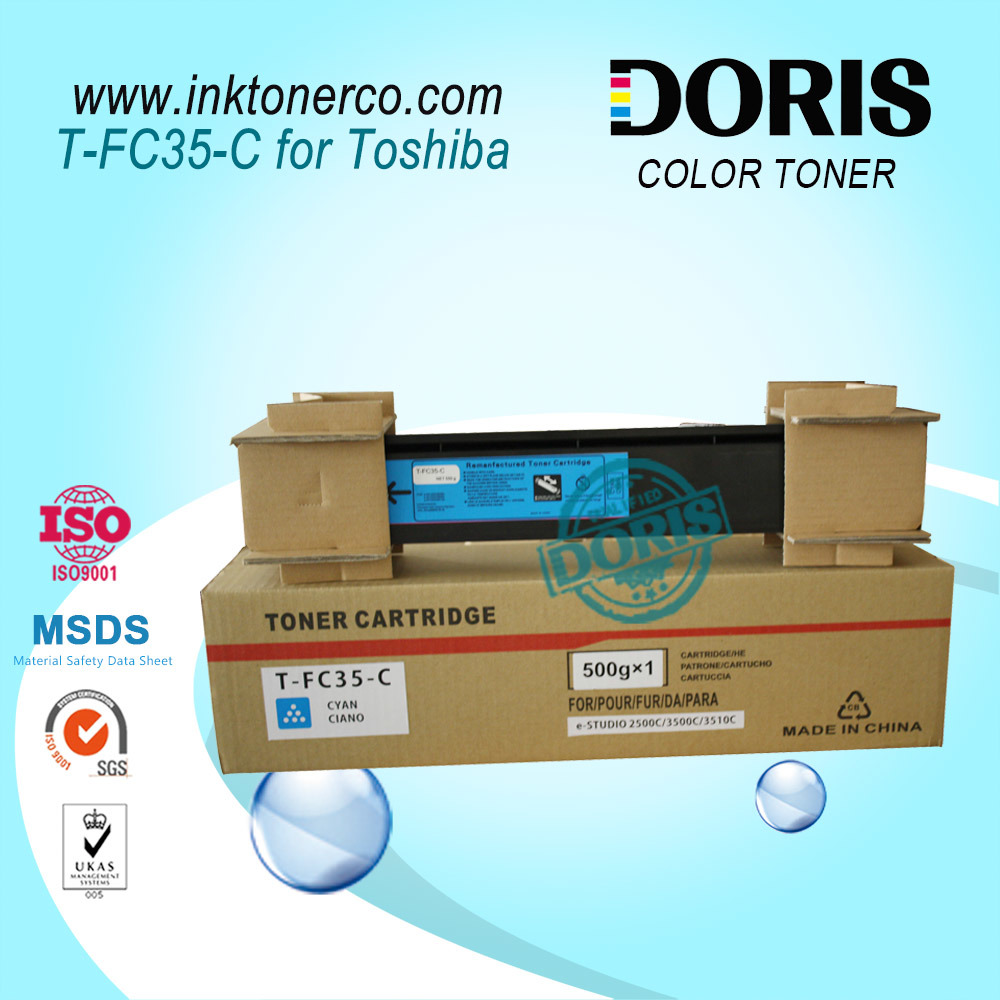 Japan Magenta Color Copier Toner Tfc35 T-FC35 E Studio 2500c 3500c 3510c for Toshiba
