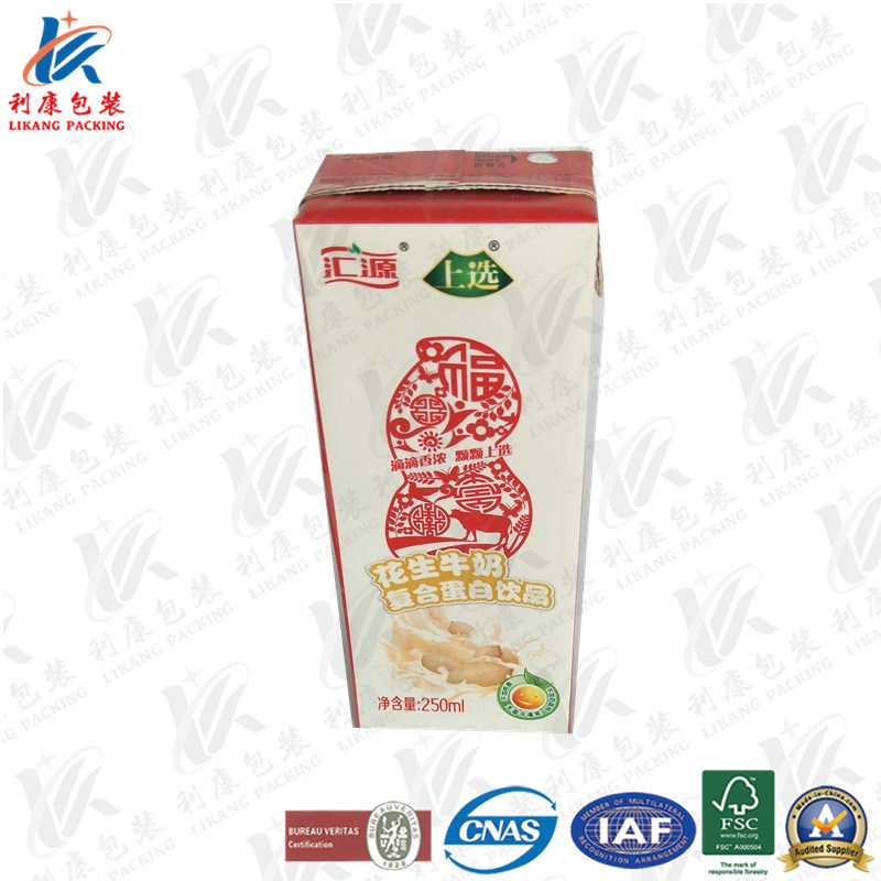 Aseptic Packaging Carton for Juice for Milk