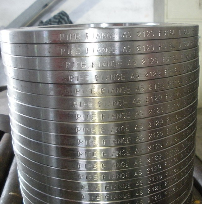 As4087 / As2129 Stainless Steel Flanges, Table D/Table E F304/F304L/F316/F316L Flanges
