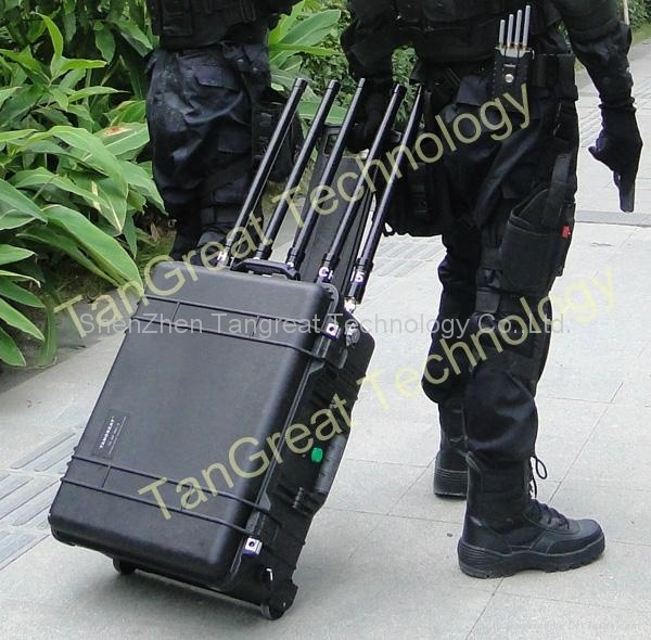Portable Military Jammer with Inside Battery (TG-VIP JAMM)