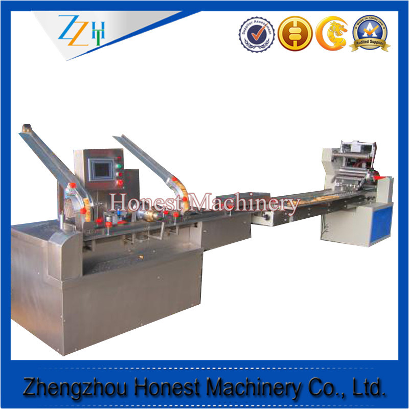 High Quality Automatic Snack Sandwich Cookie / Biscuit Machine