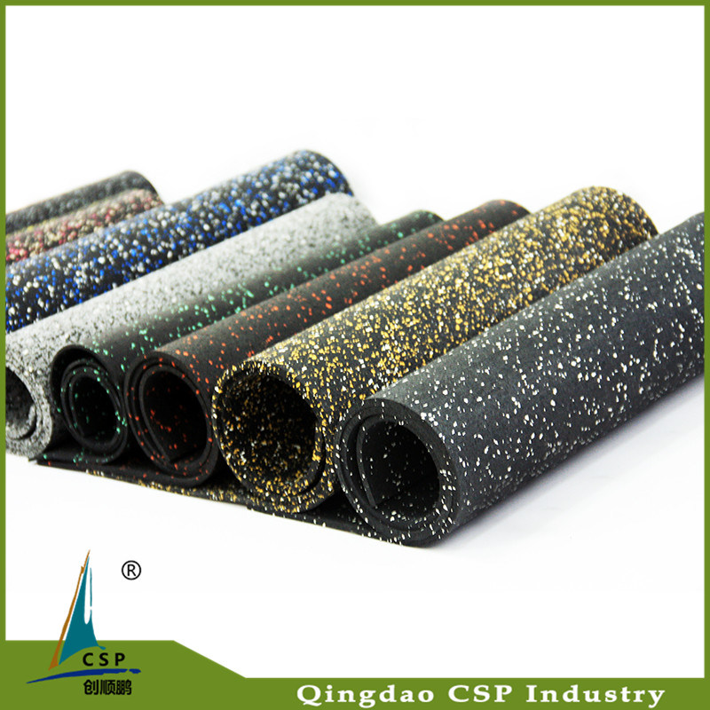 Eco-Friendly Recycled Granules Flooring Mat Gym