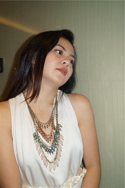 Multi Layers Acrylic Beads Necklace