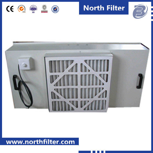 Fan Panel Filter Unit for Air Cleaning