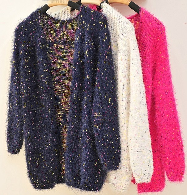 Knitting Cardigan Sweater Coat Thickening