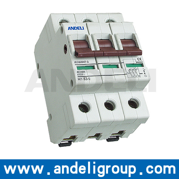 20A DC Isolator Switches 3 Phase (AH7)