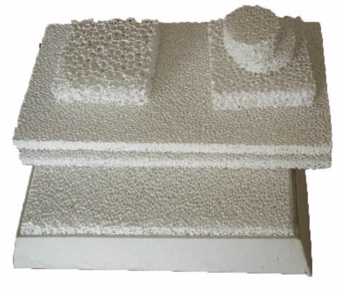 Zirconia Foam Ceramic Filter for Stainless Steel Carbon Smelt Filtration