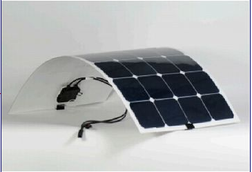 Factory Directly Sale 100W Semi Flexible Solar Panel Solar Cell Marine