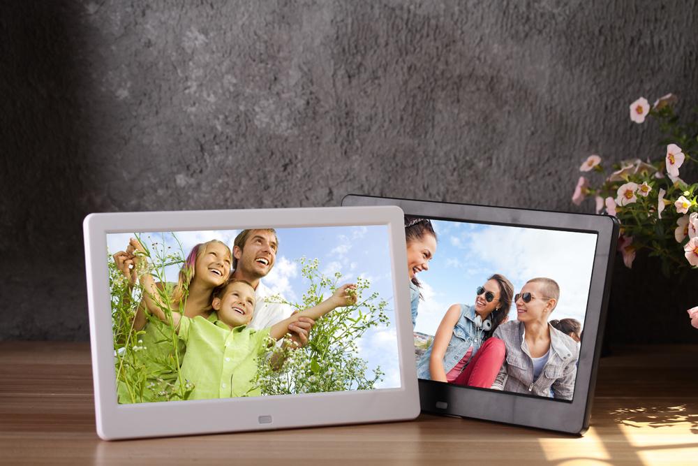 Digital Photo Frame 10 Inch HD TFT-LCD Porta Retrato Electronic Alarm Clock MP3/4 Video Movie Player Elektronischer Bilderrahmen