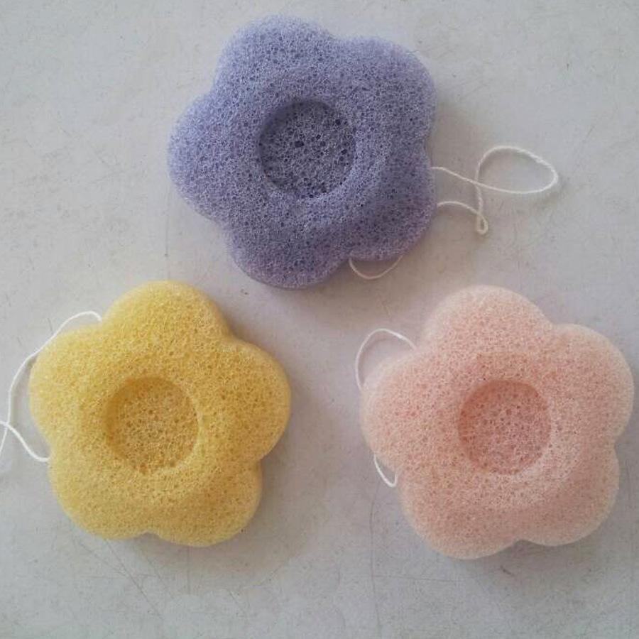 Different Shape Konjac Cosmetics Sponge with OEM Service