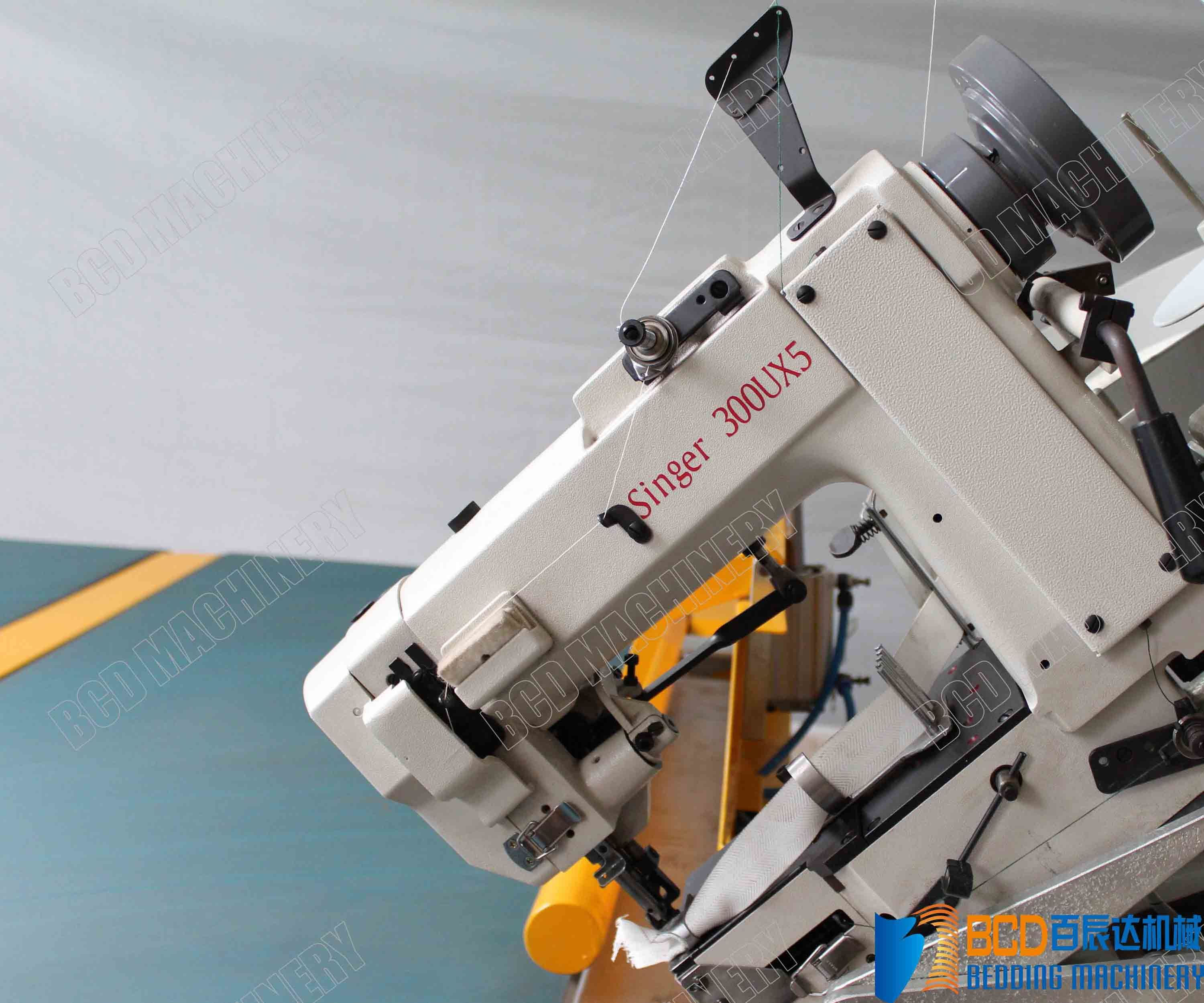 Mattress Tape Edge Machine (BWB-4B Auto-Flip, 300U Chain Stitch)