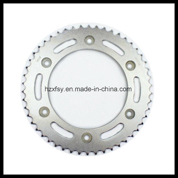 China Motorcycle Steering Parts of Rear Sprocket